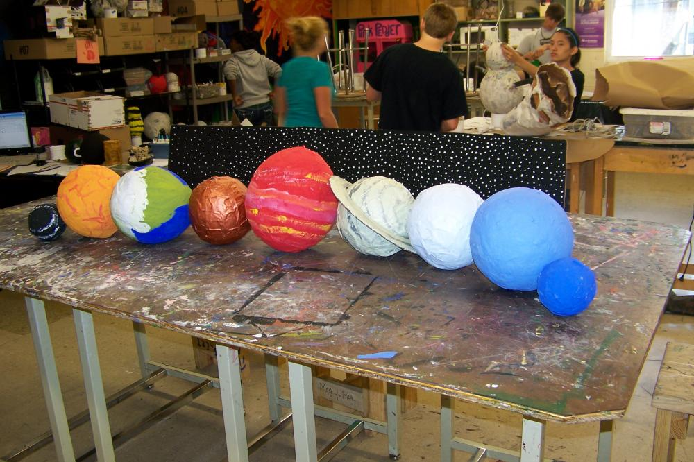 paper mache planet venus - photo #6